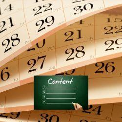 Foto website bij duurzame contentkalender 2022